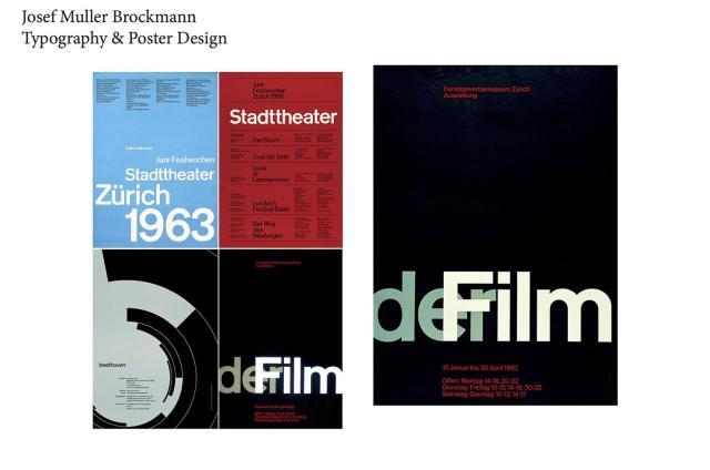 Josef Muller Brockmann posters
