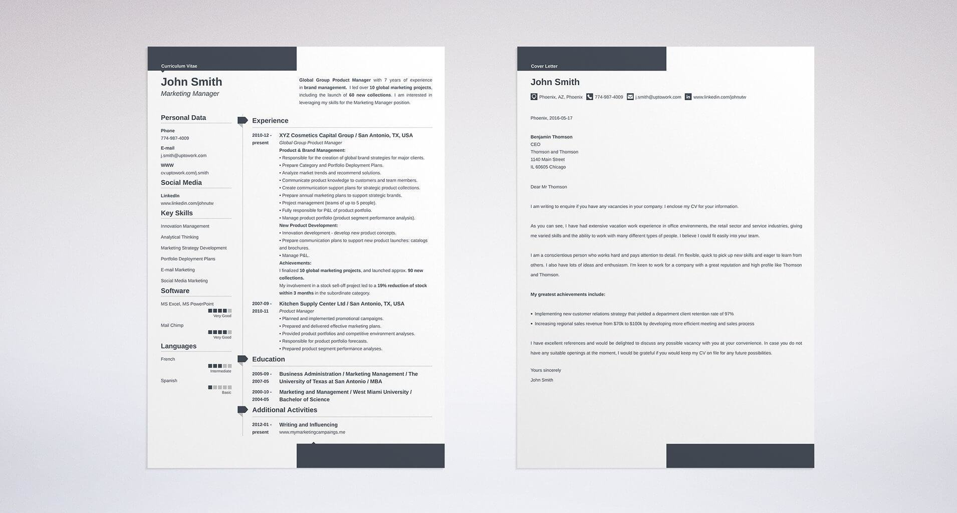 Marketing Resume Sample & Complete Guide 20 Examples