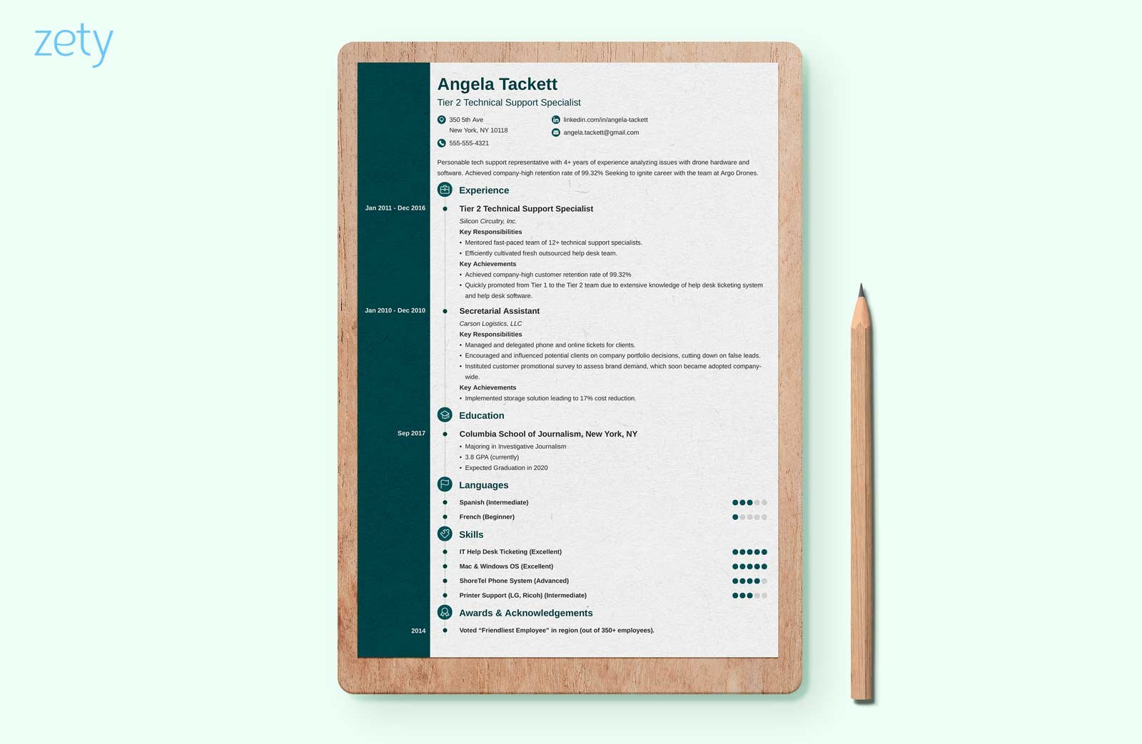 Uptowork Resume Creative Resume Templates 16 43 Examples To Download And Guide