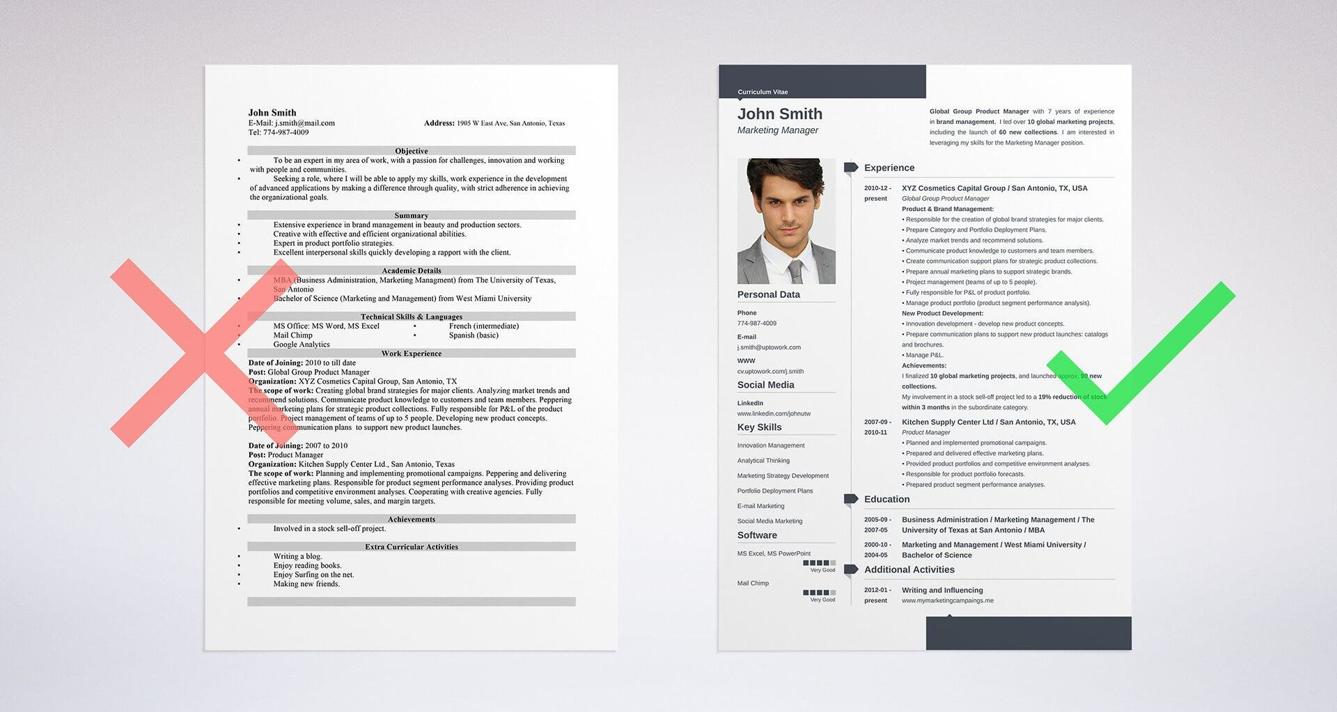CV Vs Resume What Is The Difference? When To Use Which Examples