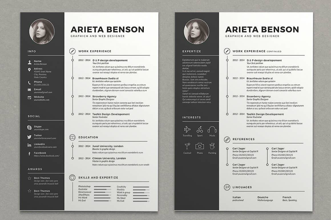 15 Resume Design Ideas Inspirations  TemplatesHowto Tutorial
