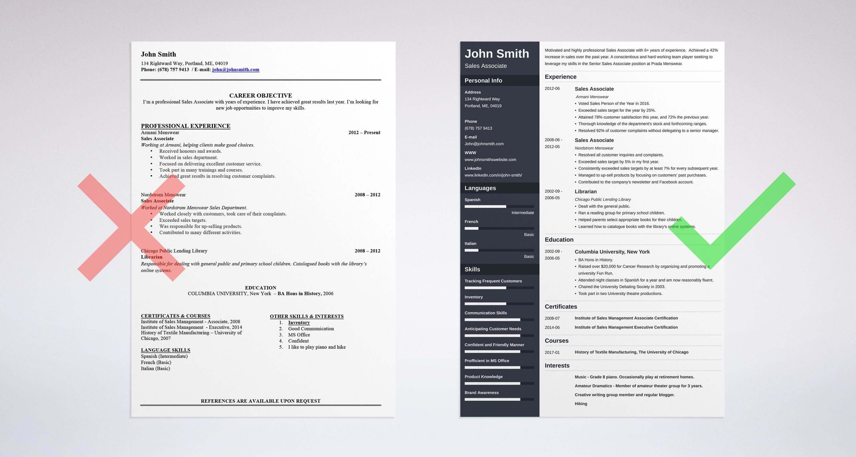About Myself Resume  Resume Ideas