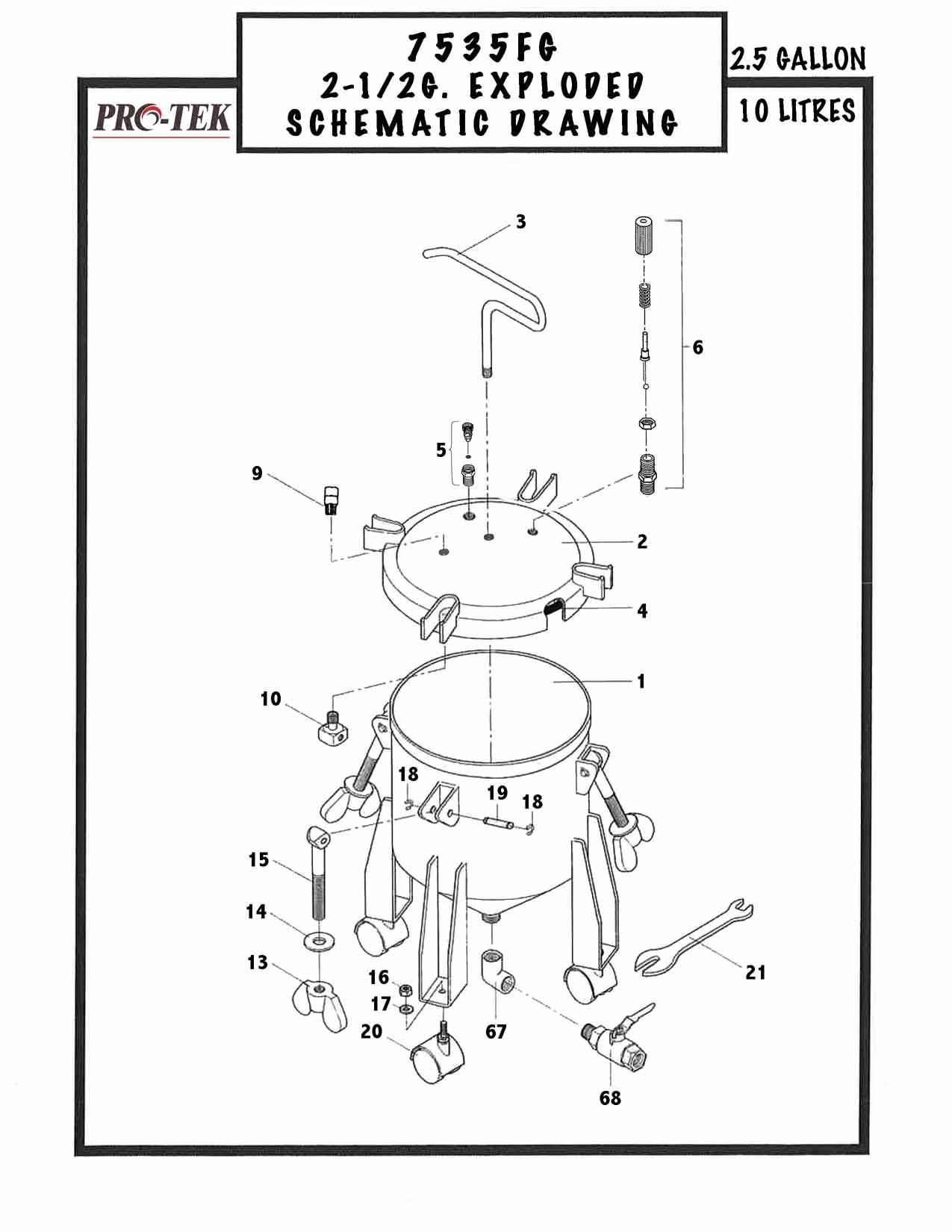 Gravity Pressure Tank