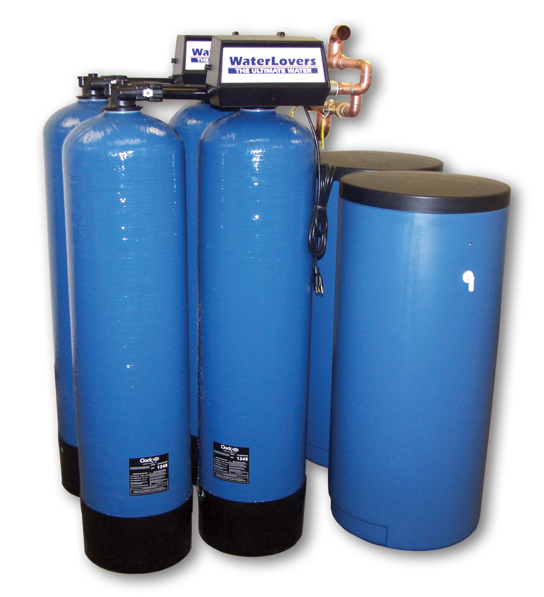 hight resolution of commercial water softener system