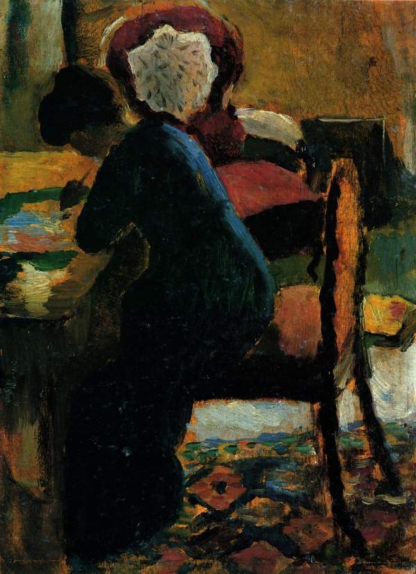 Elisabeth Table - August Macke