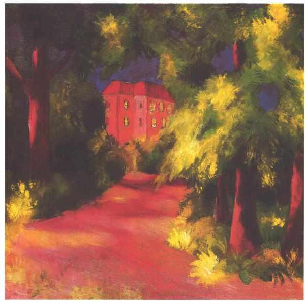 August Macke House Red