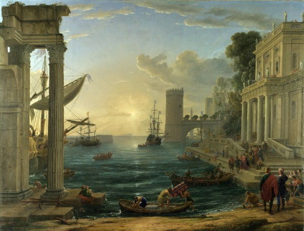 Embarkation Of Queen Sheba 1648 - Claude