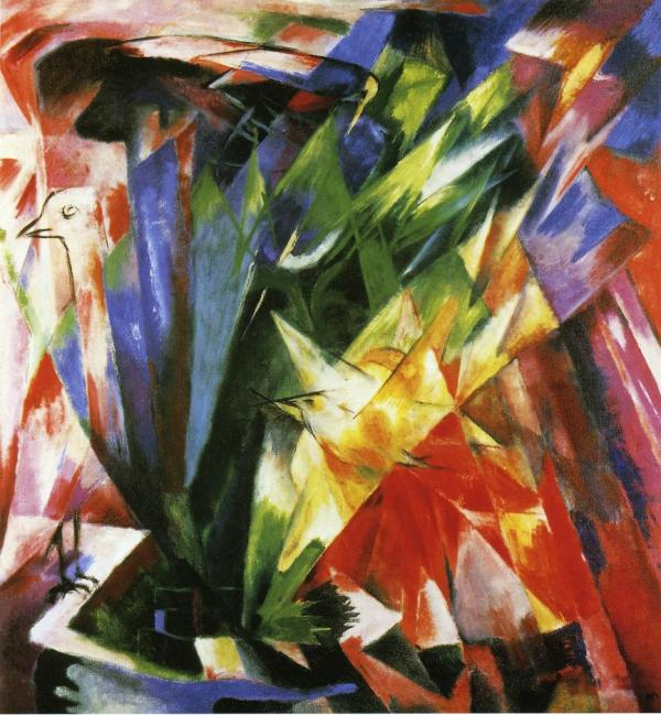 Birds - Franz Marc Encyclopedia Of Visual Arts