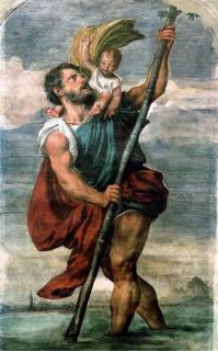 Saint christophe ... protecteur des voyageurs