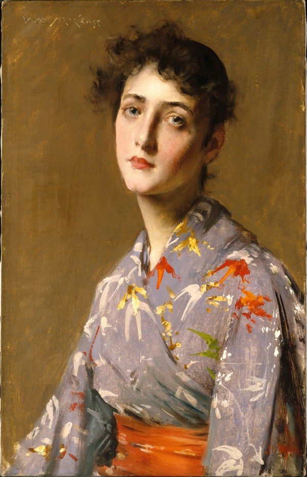 William Merritt Chase Paintings of Women