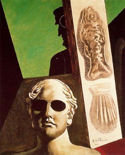Portrait of Guillaume Apollinaire - Giorgio de Chirico