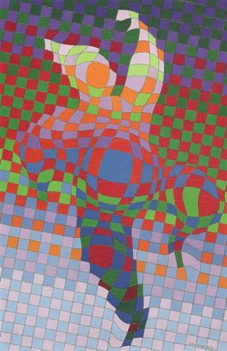 Harlequin - Victor Vasarely