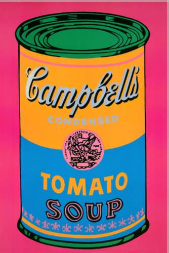 Campbell Soup Painting