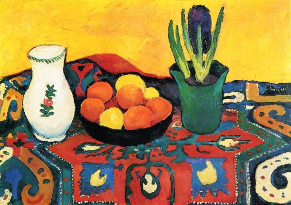 August Macke Still Life Prints