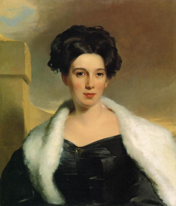 Mary Anne Heide Norris 1830 - Thomas Sully