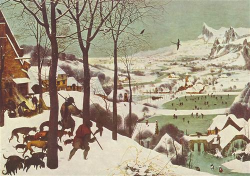 Hunters in the Snow  - Pieter Bruegel the Elder