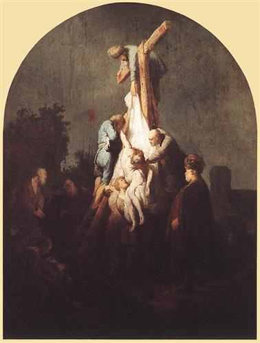 Deposition from the Cross - Rembrandt