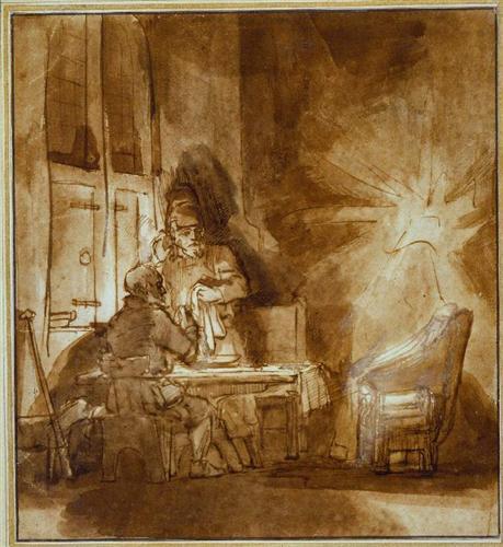 Supper at Emmaus - Rembrandt