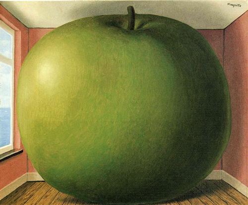 Rene Magritte - The Listening Room