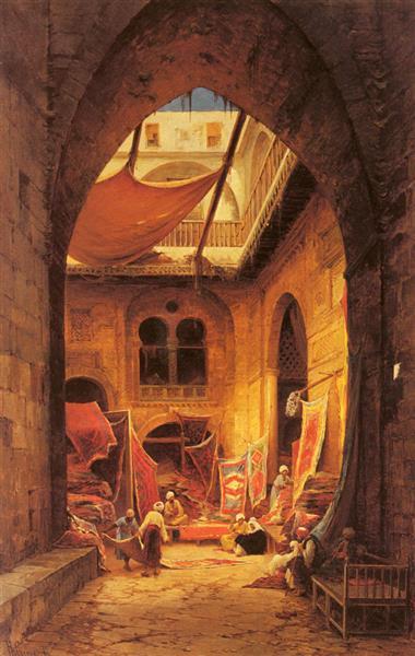 le marchand de tapis 1905 hermann