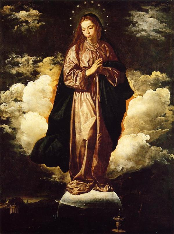 Immaculate Conception .1619 - Diego Velazquez