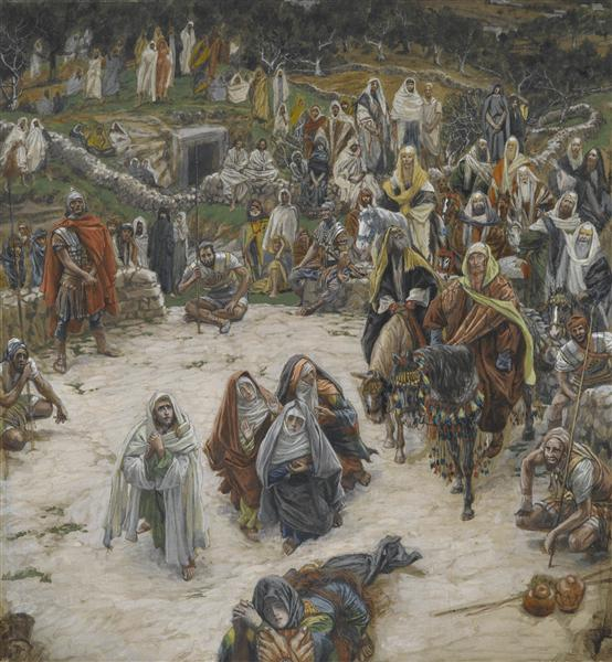 Crucifixion, seen from the Cross, c.1890 - James Tissot