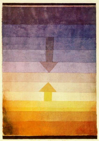 Separation in the Evening  Paul Klee  WikiArtorg