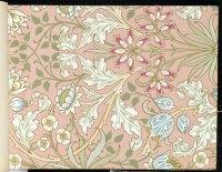 Wallpaper - Hyacinth, pattern #480, 1917 - William Morris ...