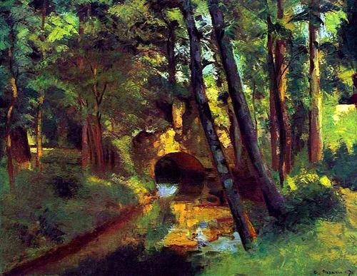 Pissarro, The Little Bridge at Pontoise, 1875