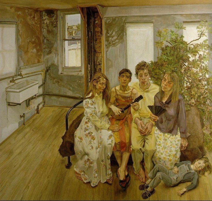 Large Interior W11 (after Watteau), 1983