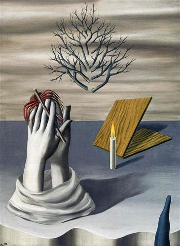 The dawn of Cayenne - Rene Magritte