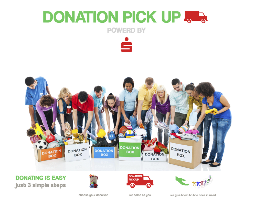 jovoto  DONATION PICK UP  Gute Ideen fr Berlin  Berliner Sparkasse