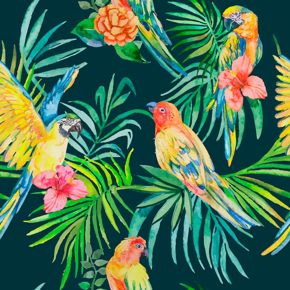 Tropical Wallpaper Designs