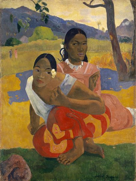 Quand Te Maries-tu ? : quand, maries-tu, Marry?,, Gauguin, WikiArt.org