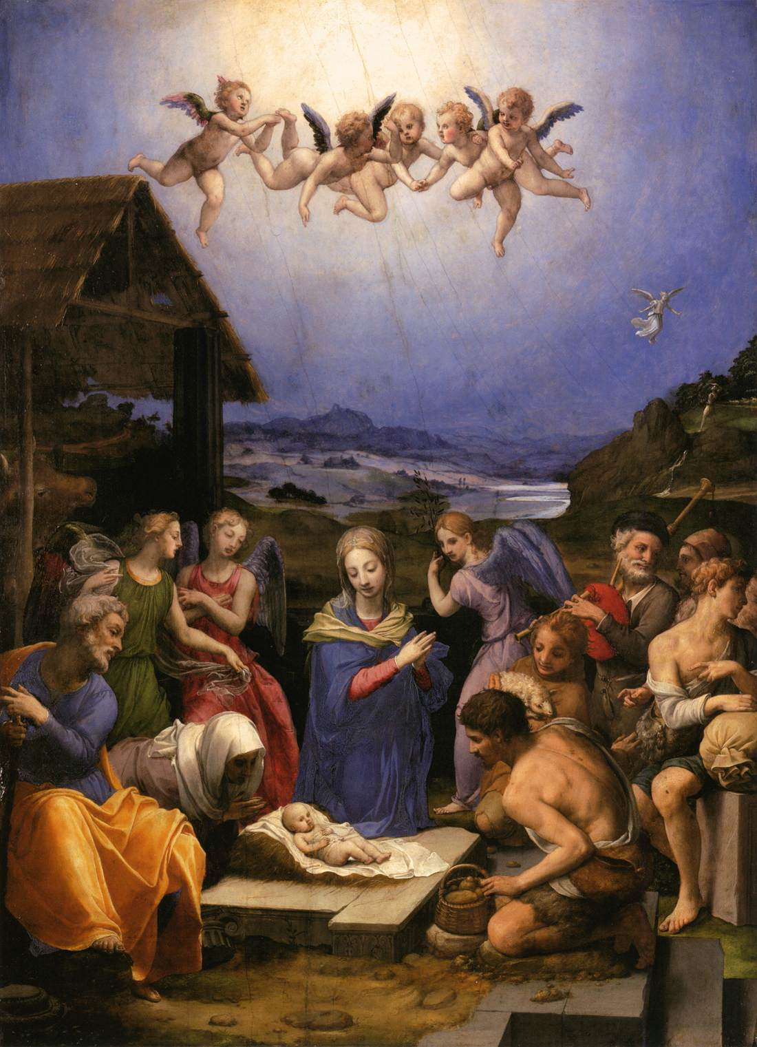 Adoration Of The Shepherds C