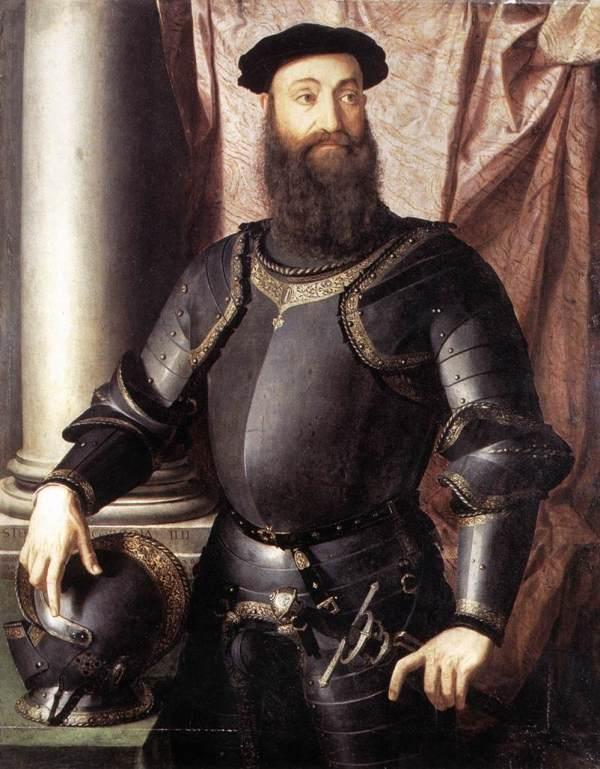 Portrait Of Stefano Iv Colonna - Agnolo Bronzino Wikiart