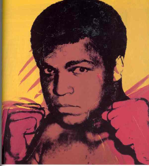 Andy Warhol Muhammad Ali