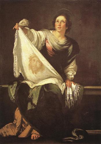 St. Veronica  - Bernardo Strozzi