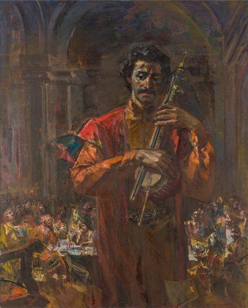 Саят-Нова, 1964 - Эдуард Амаякович Исабекян - WikiArt.org