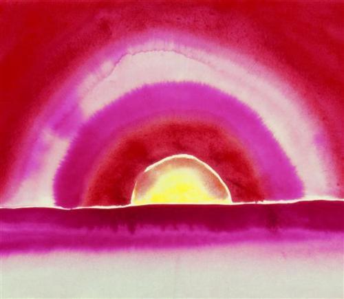 Sunrise -- Georgia O'Keeffe -- 1916