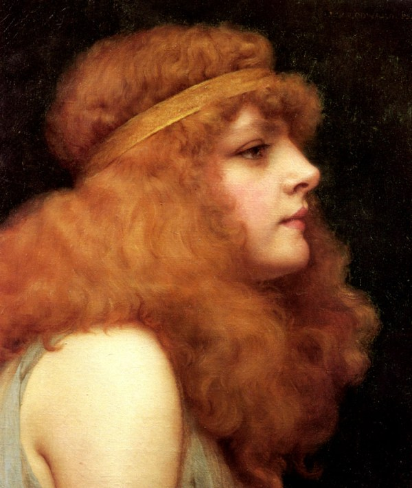 Auburn Beauty 1895 - John William Godward