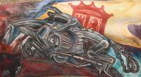 Ceiling mural of Hospicio Cabanas, 1939 - Jose Clemente ...