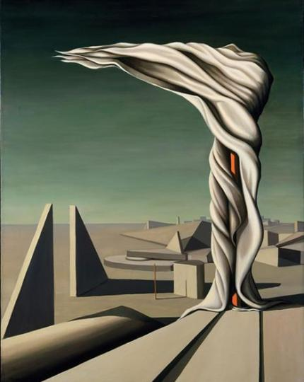 Kay Sage - I Saw Three Cities (1944)