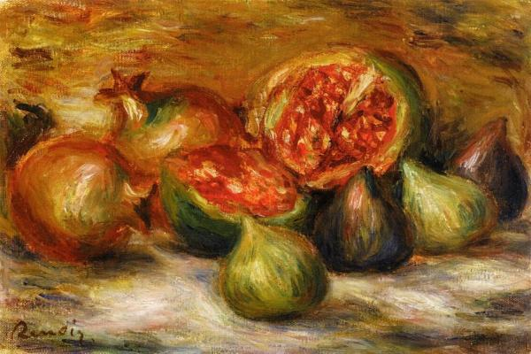 Still Life with Figs PierreAuguste Renoir WikiArtorg