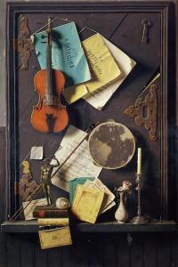 The Old Cupboard Door, 1889 - William Michael Harnett ...