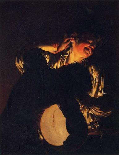 tan renga challenge, ego,  Baroque, Romanticism, Joseph Wright, games,
