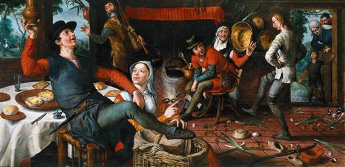 The Egg Dance - Pieter Aertsen