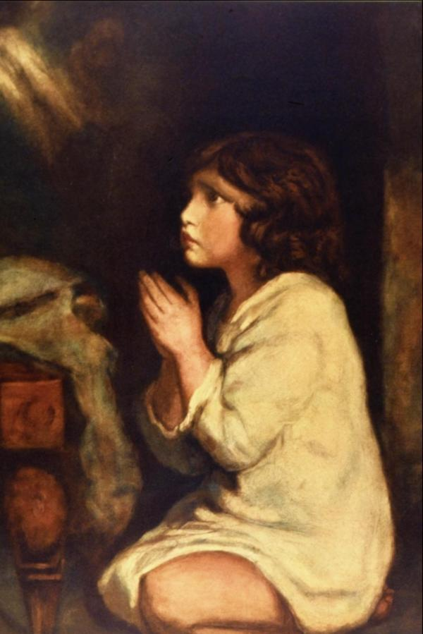 Infant Samuel Prayer - Joshua Reynolds