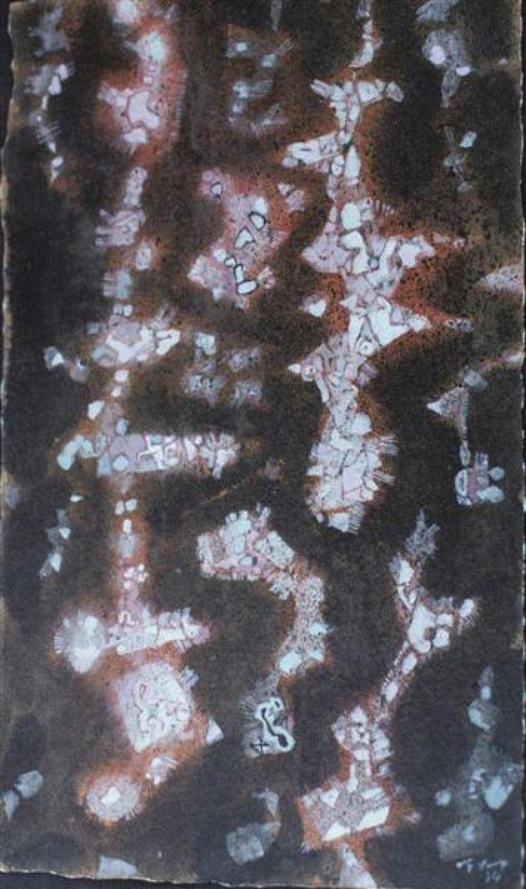 Carnival, 1954 - Mark Tobey