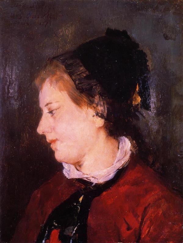 Portrait Of Madame Sisley 1873 - Mary Cassatt